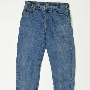 Levis Jeans Regular Blue 38x 30 550 Cotton solid